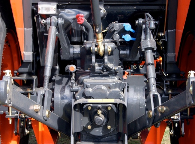 Lk2554 Kioti Hydraulic Control Lever : Central coast tractors rx rops hp