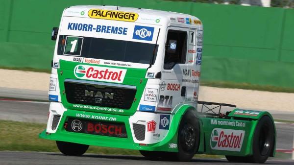 castrol truck